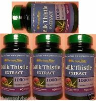 Puritans Pride(us Made) Softgels Milk Thistle-silymarin -1000mg 4x 90 Deal