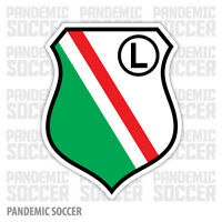 Legia Warsaw Poland Vinyl Sticker Decal Soccer Football UEFA Die Cut Ekstraklasa
