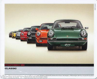 Porsche 911 50 Jahre Classic Edition Mousepad 19,5 X 24,cm Maus Pad Mousepad Zu Verkaufen