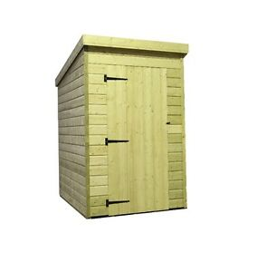 Garden Sheds 4x4 4x4 garden shed shiplap pent roof tanalised pressure treated | ebay