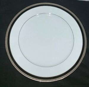 "HAVILAND SYMPHONIE GOLD & BLACK SALAD PLATE  8.5"" Diameter"