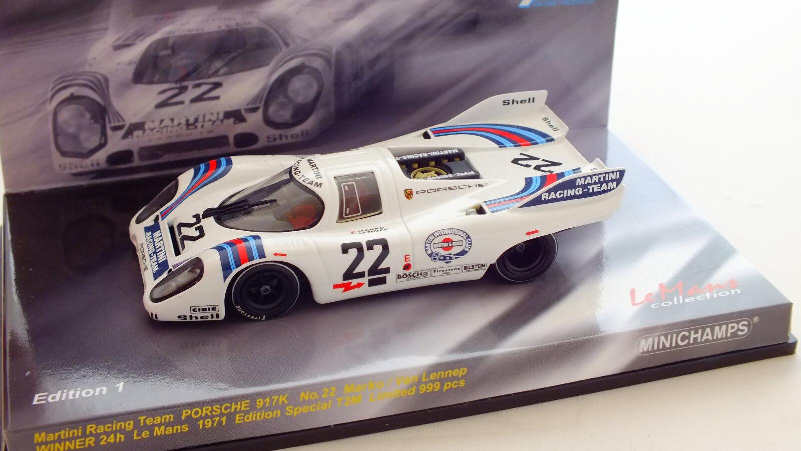 punto de venta de la marca MINICHAMPS- 403716122- PORSCHE 917K N° 22 Winner 24H du Mans Mans Mans 1971  el precio más bajo