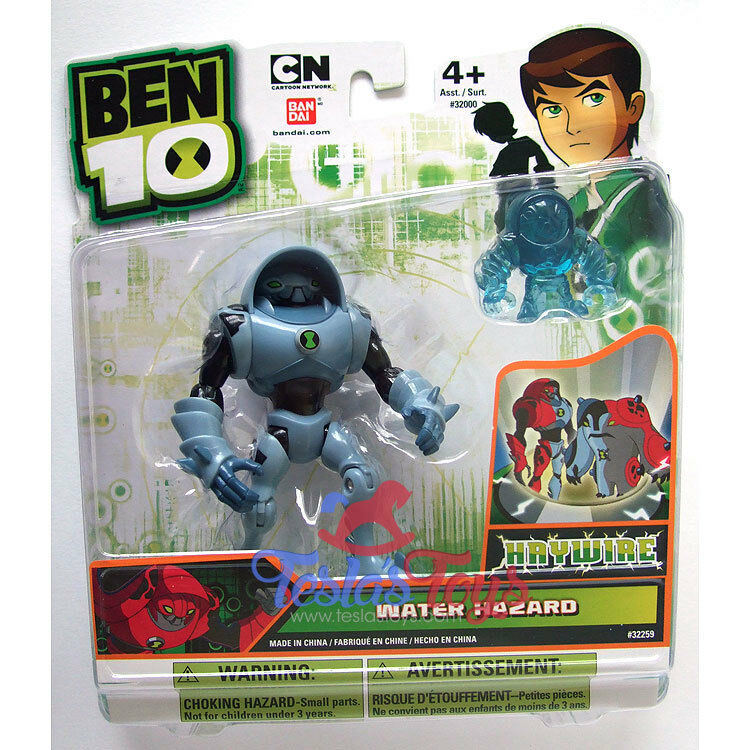 Ben 10 Ultimate Alien Action Figure - Water Hazard (Haywire)