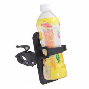 Universal Motorcycle Folding Bike DrinkCup Holder Clamping Beverage Water Bottle