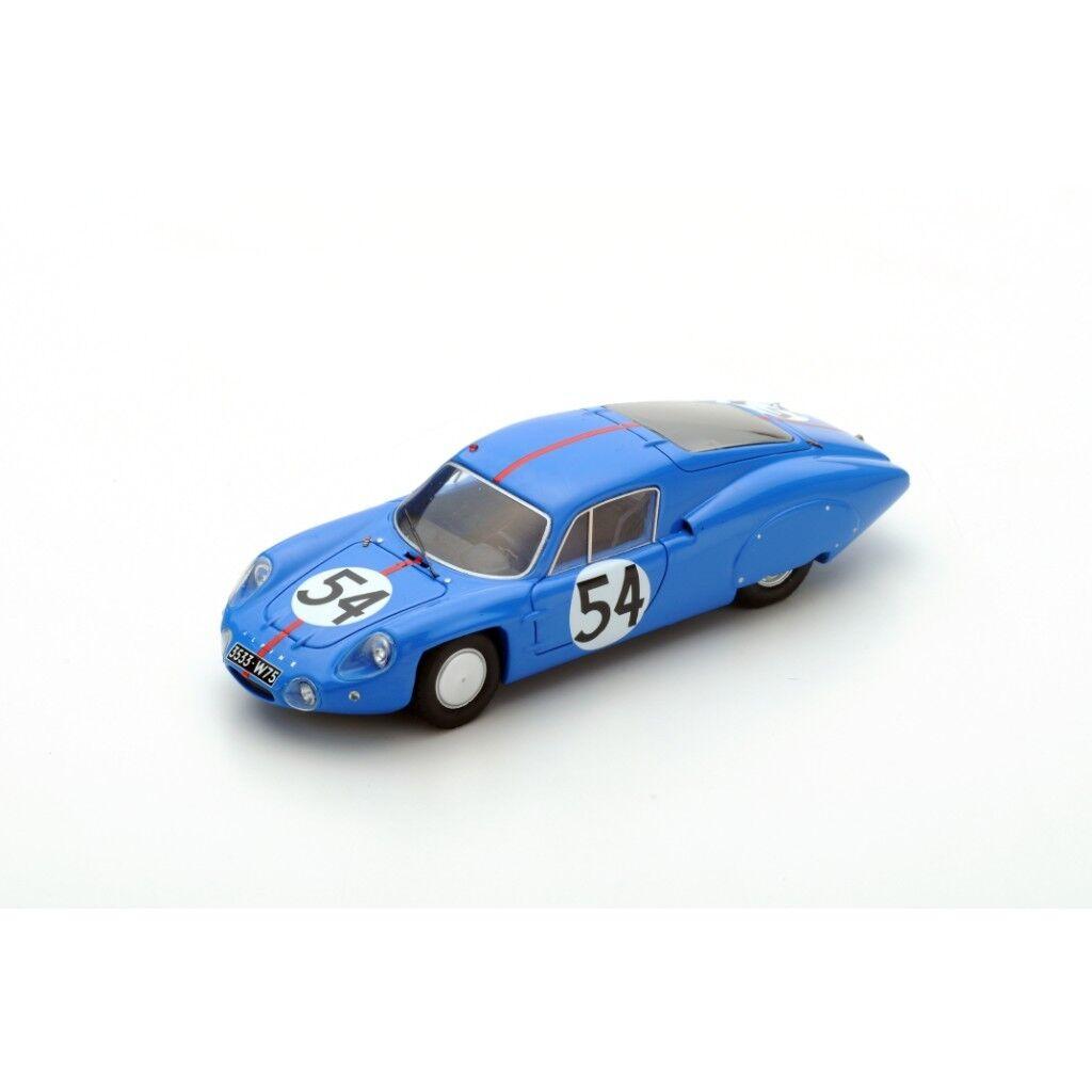 SPARK ALPINE M64  54 Le Mans 1964  P. Vidal - H. Grandsire S5682 1/43