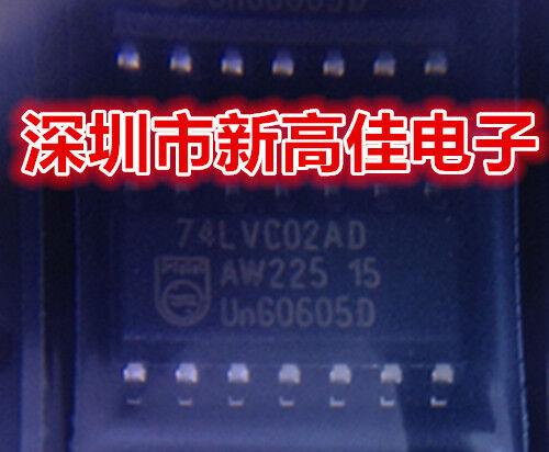 50PCS 74LVC02AD SOP Quad 2-input NOR gate
