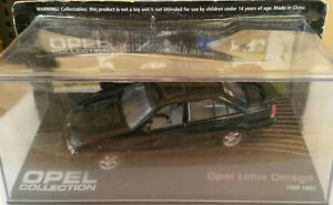 DIE-CAST-034-OPEL-LOTUS-OMEGA-1989-1992-034-OPEL-COLLECTION-SCALA-1-43