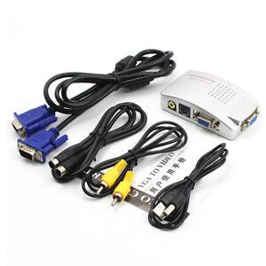 PC-VGA-to-TV-Composite-Video-RGB-Converter-AV-RCA-Video-Adapter-Converter-Box-b