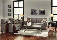 Phenomenal Ashley Furniture Safia Grey Slate Sofa And Loveseat Machost Co Dining Chair Design Ideas Machostcouk
