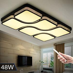 24W Warmweiß 80W 100W Dimmbar LED Deckenlampe moderne Lampe für ...