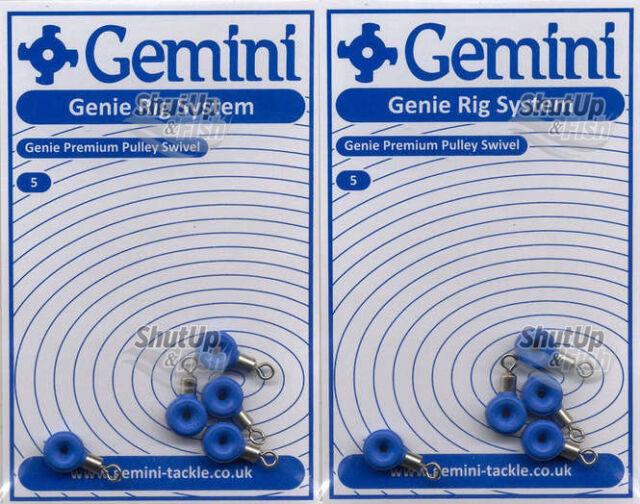 3 x PACKS OF 5 NEW GEMINI PREMIUM PULLEY BEADS