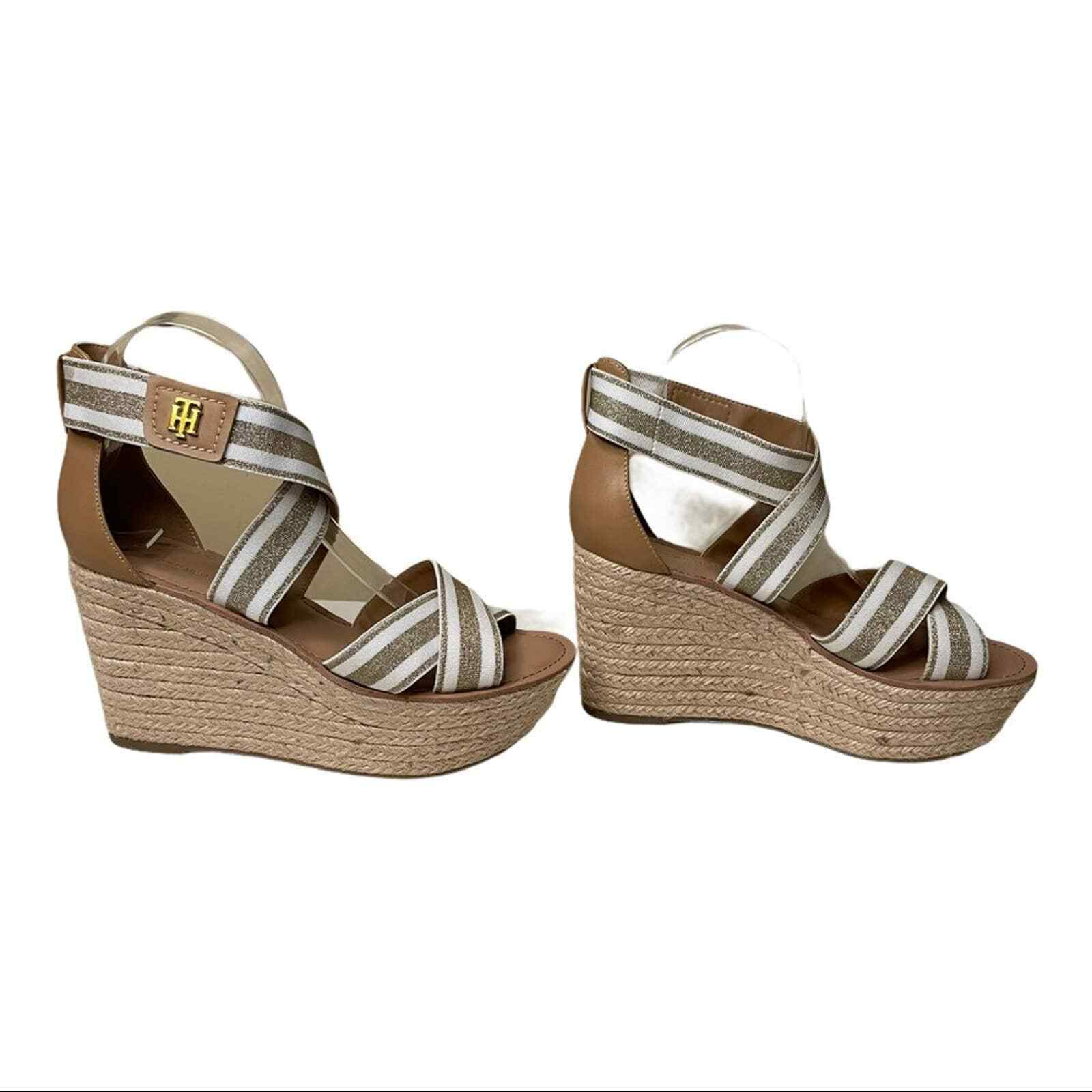 Tommy Hilfiger Theia Wedges Size 8.5 - image 2