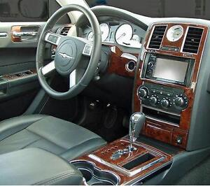 Chrysler 300 300c hemi touring interior wood dash trim kit - Chrysler 300 interior accessories ...