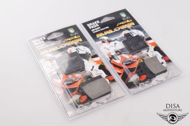 Yamaha Aerox 50 R KAT (45 km/h) (2T) Malossi Bremsbeläge SET vorne hinten NEU *