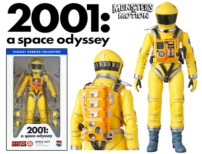 2001  A Space Odyssey Astronaut Space Suite Gelb Version 031ME200