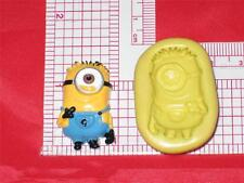 Minion Girl Silicone Mold A533 For Chocolate Resin Clay Craft Soap Candy