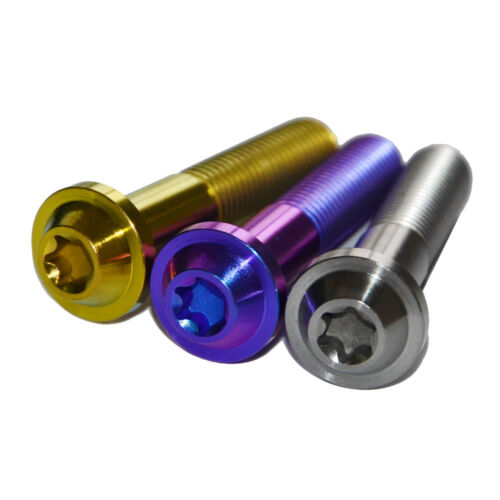 Titanium alloy bolt Ti6AL4V Titanium bolt M10 x 50 for Motorcycle Racing 2PC