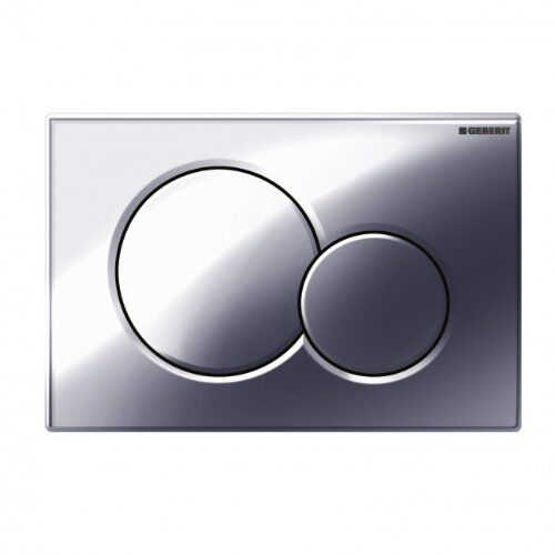 Geberit 115.770.21.5 Polished Chrome Sigma01 Dual Flush Plate for UP300