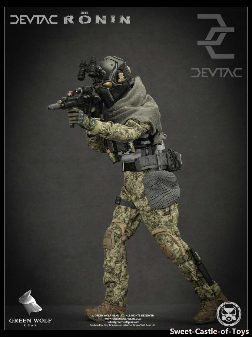1 6 Green Wolf Gear Action Figure - Devtac Ronin GWG-007 GWG007 Military Toys