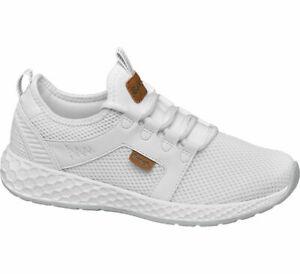 Details zu Bench Damen Sneaker weiß Neu