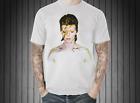 David Bowie Ziggy Stardust Vintage Retro White T-Shirt UK Glam Punk Rock Music L