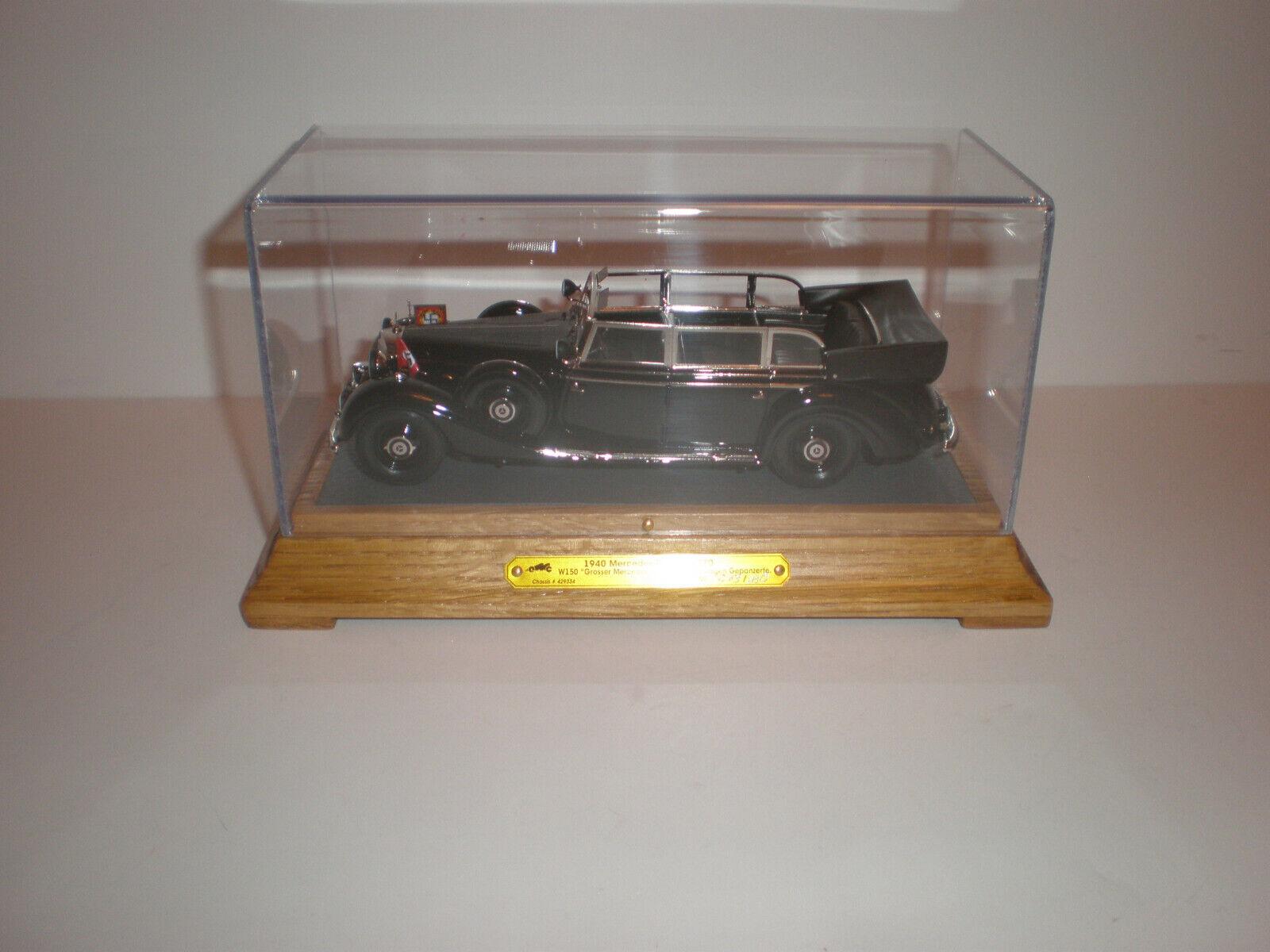 1 43 1942 - 1943 MERCEDES BENZ 770K W 150  Aktion P  Limousine Handmade