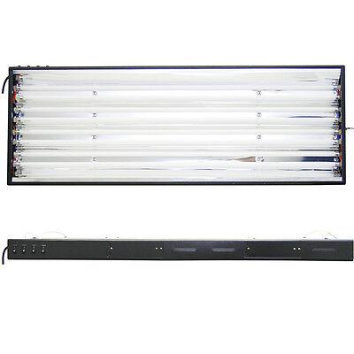 VG 48 Grow Light Hydroponics 8 Lamps 6500K 3000K Bulbs 4 ft T5 HO Bloom Veg
