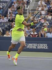 NEW Mens NIKE Court Dry Advantage Printed Dri-FIT Tennis Shirt Volt 801700 Sock