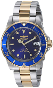 Invicta-Men-039-s-8928OB-Pro-Diver-Gold-Stainless-Steel-Two-Tone-Automatic-Watch