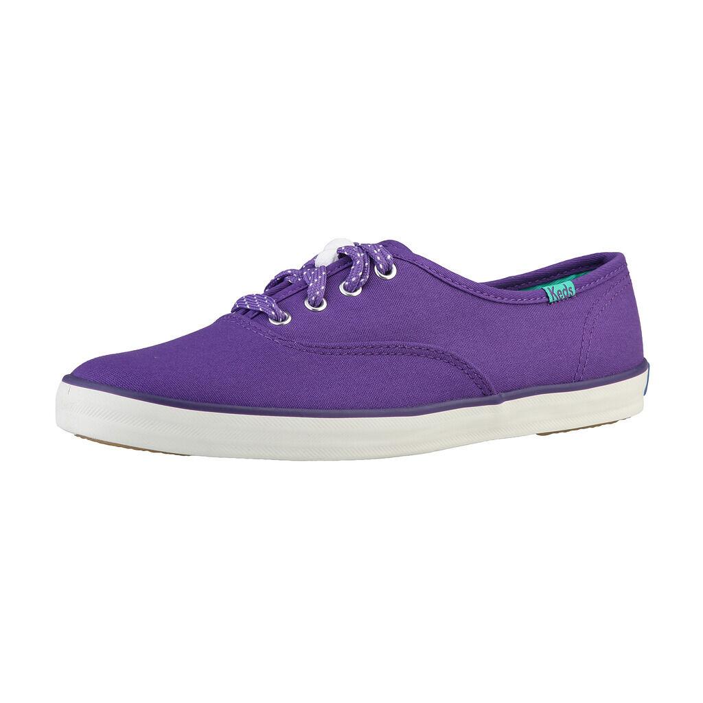 KEDS WF48108_PURPLE Sneakers Sportschuhe Lila Canvas, EU 39.5, 40.5, Lila Sportschuhe 6e00fc