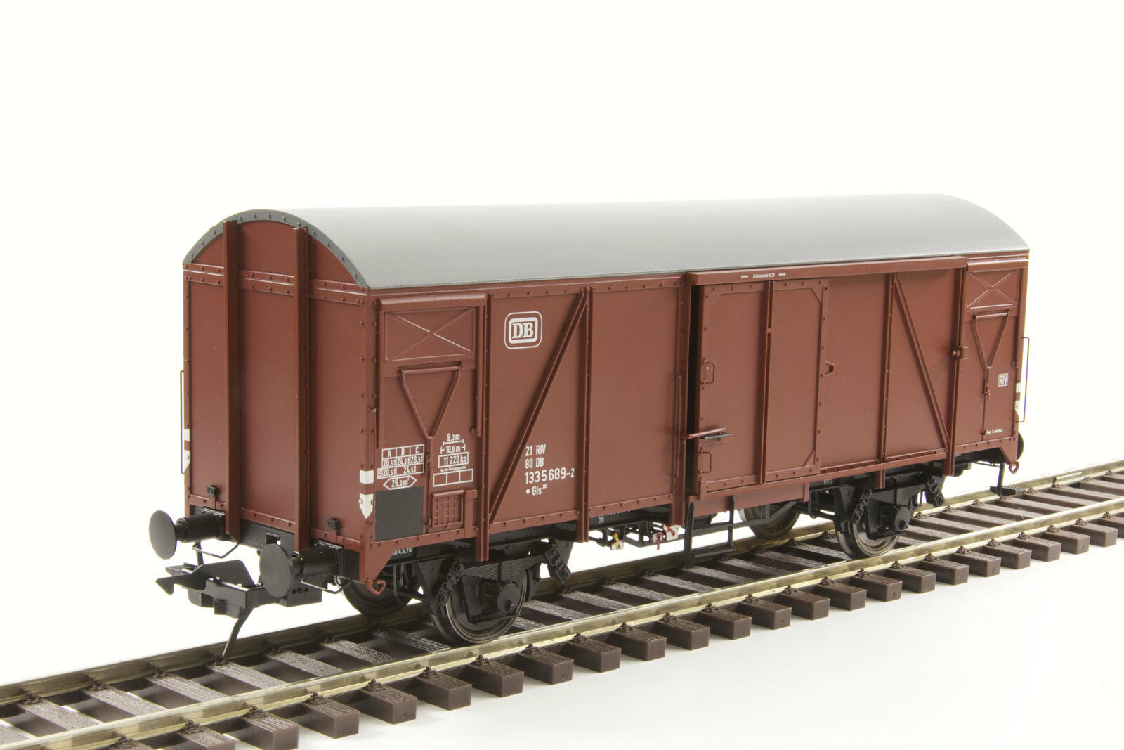 Lenz 42236-01 42236-01 42236-01 Güterwagen Gms 54 DB Spur 0 eb3488