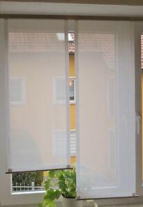 Scheibengardinen-2-x-Breite-39-cm-x-Hoehe-93-112-cm-neu-modern-Gardine-Paneel