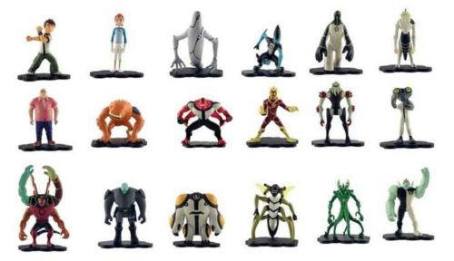 BEN 10 MICRO FIGURES SERIES 1 - Choose from 18 different figures