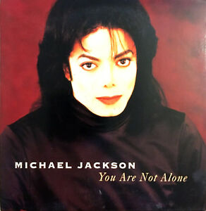 Michael-Jackson-CD-Single-You-Are-Not-Alone-Europe-EX-VG