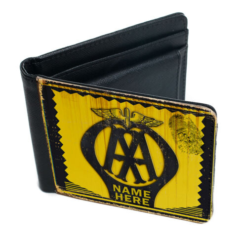 Retro Wallet AA Vintage Car Retro Dad Christmas Personalised  Gift OCW01