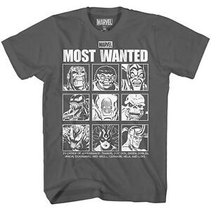 Most-Wanted-Villains-Thanos-Doc-Oc-Green-Goblin-Tee-Adult-Men-039-s-Graphic-T-Shirt