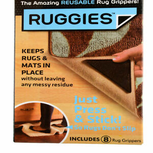 8-X-RUG-CARPET-MAT-GRIPPERS-RUGGIES-NON-SLIP-SKID-REUSABLE-WASHABLE-GRIPS-UK