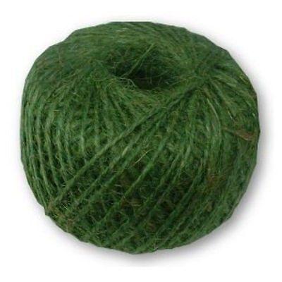 Green Jute Garden Twine String Ball Plant Tying