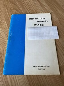 Yaesu FT-102 Technical Manual Premium Card Stock Covers /& 28 LB Paper!