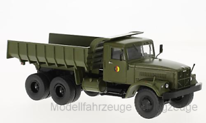 47043 KrAZ 256B, oliv, NVA, Muldenkipper, 1 43 Premium Classixxs