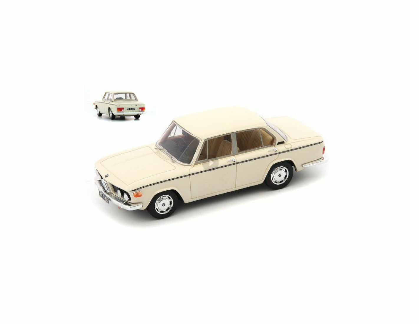 Autocult ATC05022 BMW 2004M LIMOUSINE 1973 BEIGE 1 43 Modellino