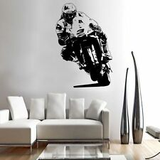 MICHAEL DUNLOP NW200 racer decal graphic adhesive UNIQUE wall art IOMTT