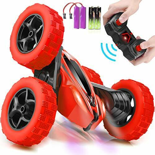 4WD 2.4Ghz Double Sided 360° Green RC Cars Stunt Car Toy Remote Control Car
