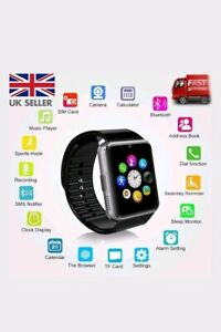 2019-Bluetooth-Smart-Watch-For-Android-iOS-iPhone-Apple-GSM-GPRS-SIM-UK-Samsung