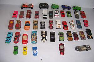 Lote-De-43-Hot-Wheels-Y-Matchbox-Y-Otros-Diecast-Autos