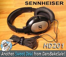 Sennheiser HD 201 HD201 Closed-Back Headphones in Nice Condition - Work Great!