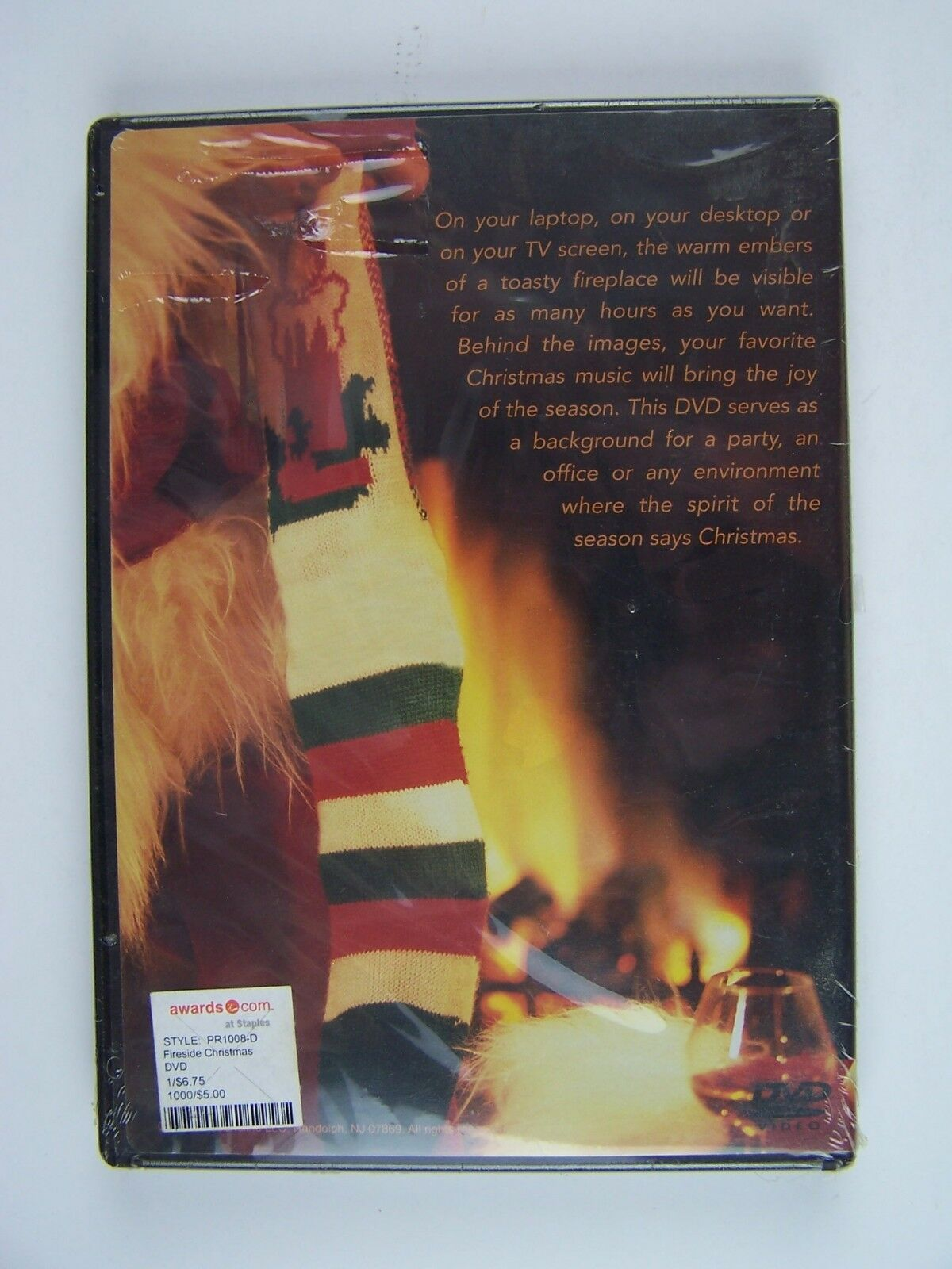 Fireside Christmas DVD New Sealed