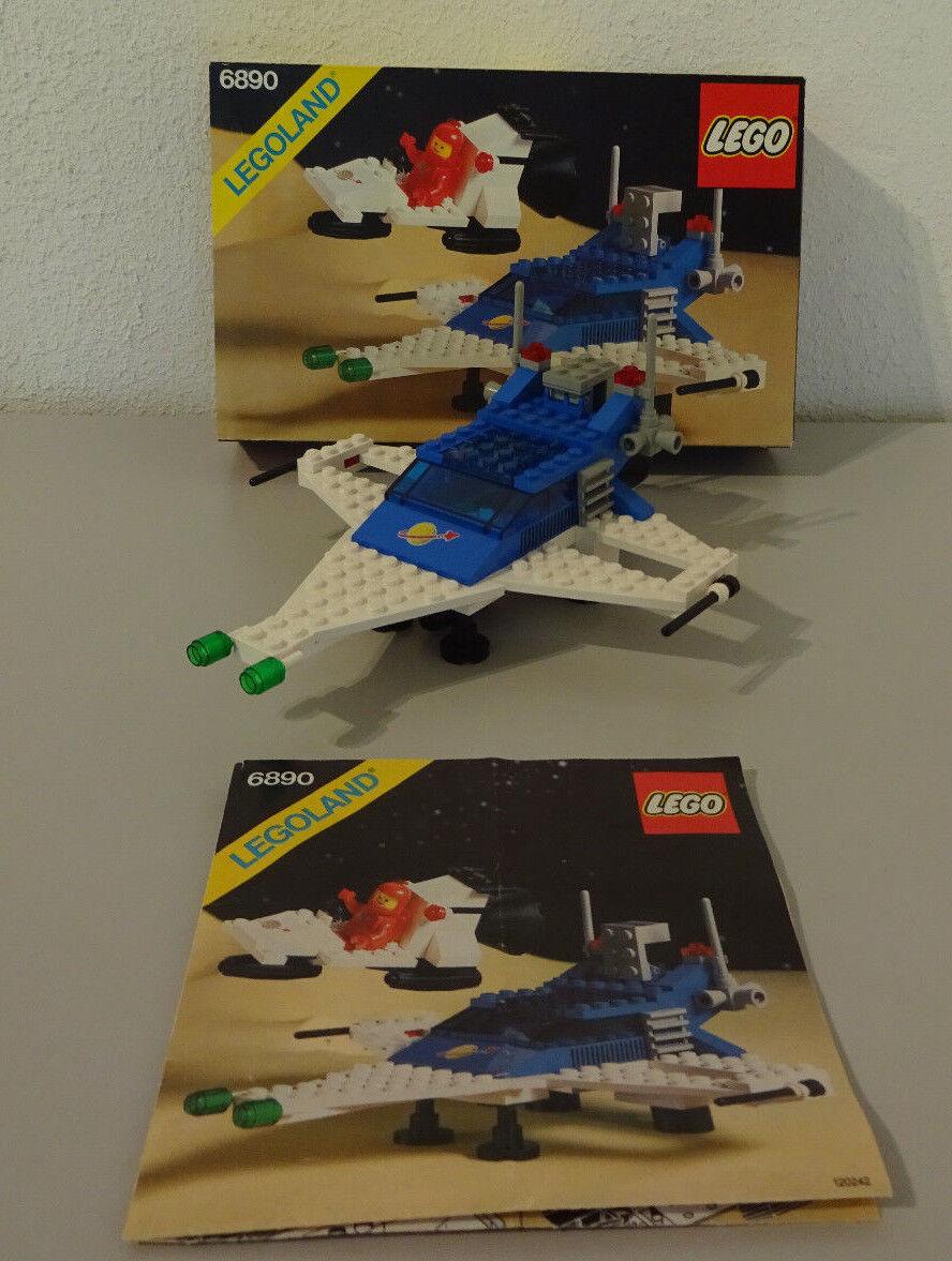 Go  Legoland 6890 Cosmic Cruiser con Conf. Orig. & Ba 100% Completo Nave