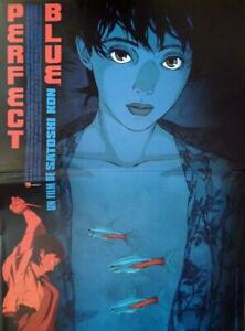 Perfect Blue Satoshi Kon Manga Japan Original French Movie Poster Ebay