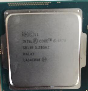 Intel Core I5-4570 I5 4570 3.2 GHz Quad-Core CPU Processor 6M 84W LGA 1150